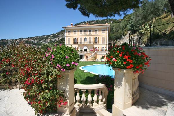 villa schiffanoia villefranche sur mer luxury villa rental villefranche sur mer