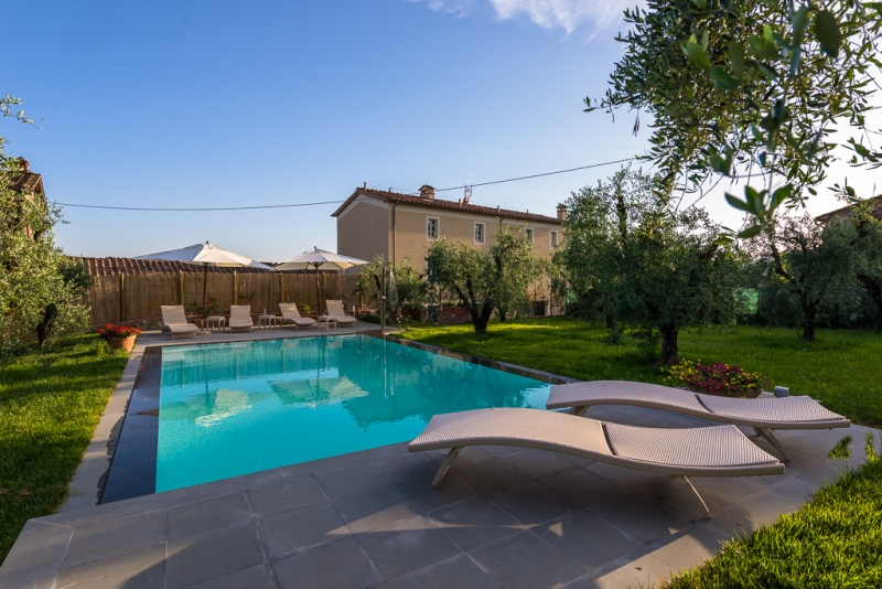luxe chalet italie