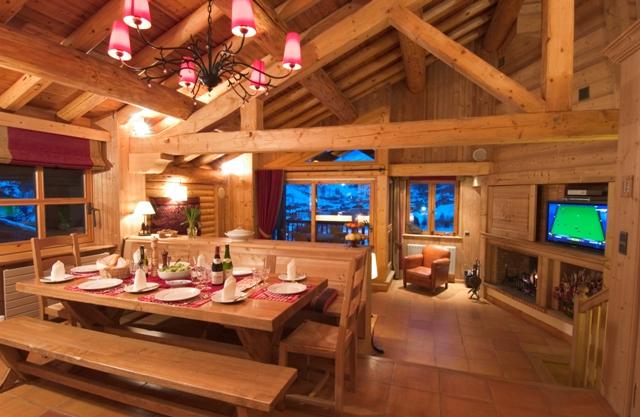 The finest luxury villa luxury chalet apartment rental for Interieur chalet de luxe