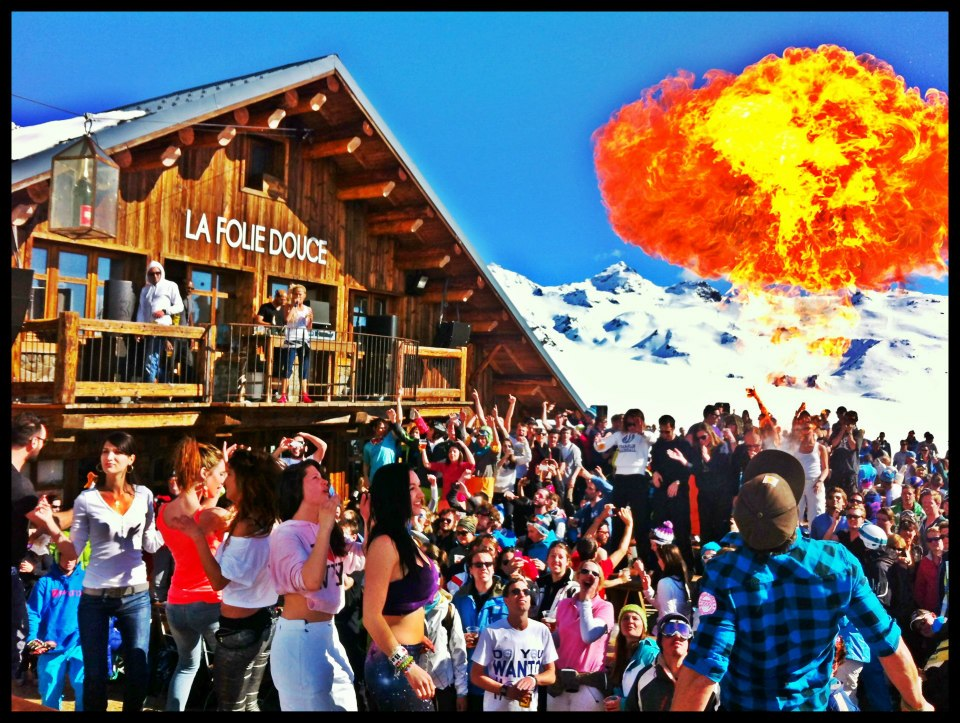 La Folie Douce Takes Megeve Eden Luxury Homes